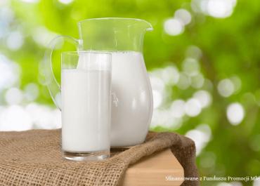 Mleko i przetwory mleczne w żywieniu człowieka